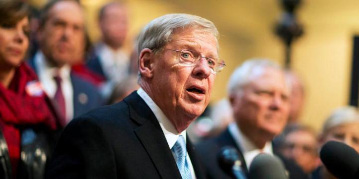 GA. Republican Senator Johnny Isakson