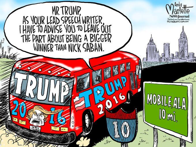 clinton-funny-rally-cartoon635757070699017488-082115pcola-donald-trump