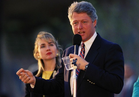 Younger Clintons. (AP Photo/Chris O'Meara)