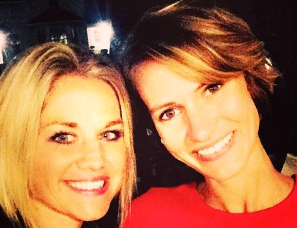 Rachel Crooks (right), Accused Donald Trump of unwanted physical contact in The New York Times, .