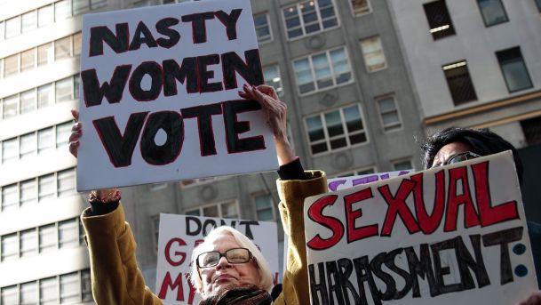 clinton-group-women-nasty-women-vote394216908