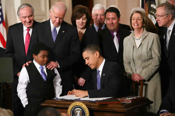 Signing of Obamacare