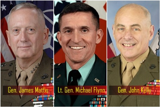 cabinet-trump-recruits-of-ex-generals-general-james-mattis-lieutenant-general-michael-flynn-and-general-john-kelly