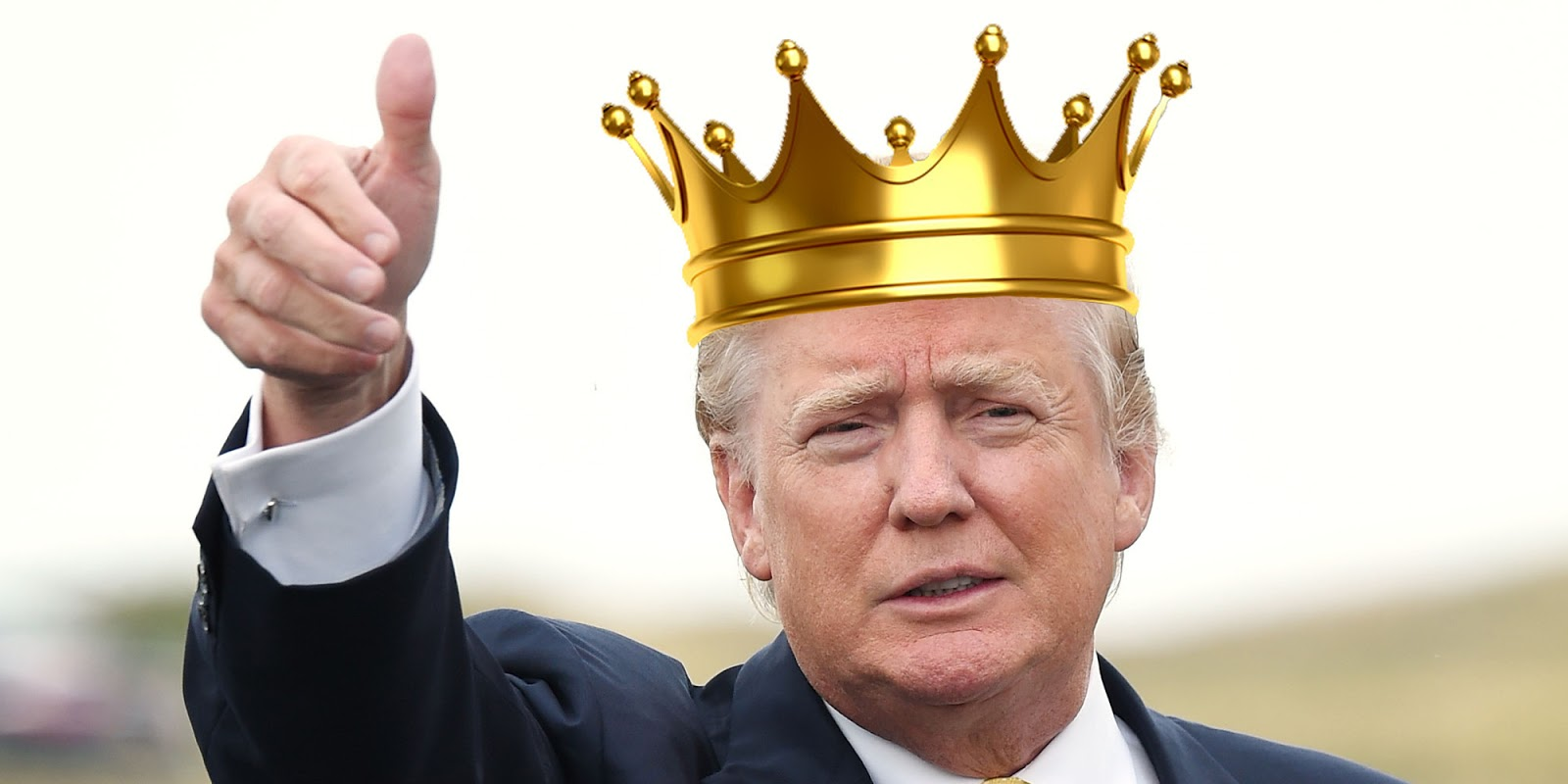 Image result for photo of president trump as king