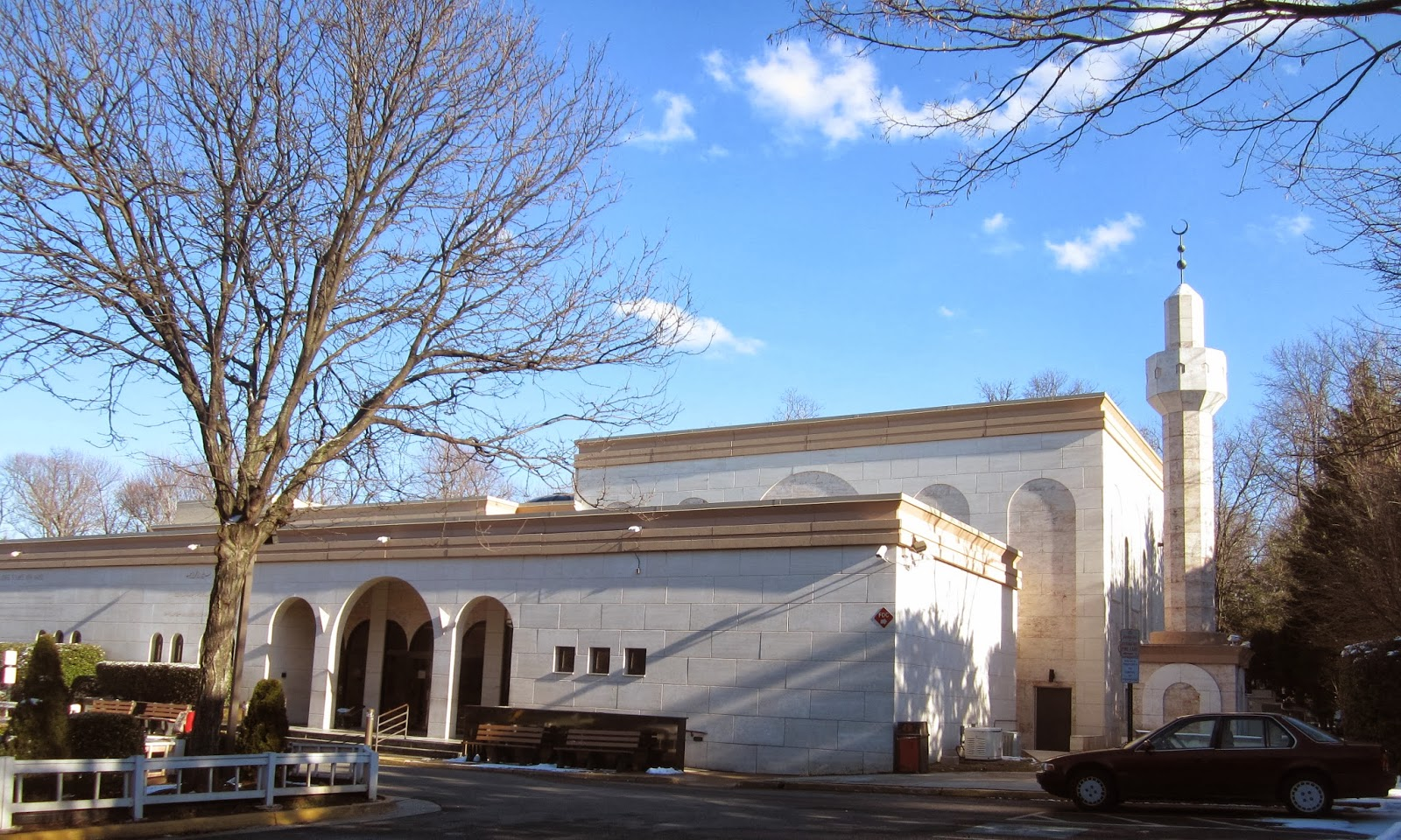 Image result for photo of Dar Al-Hijrah Mosque in Falls Church