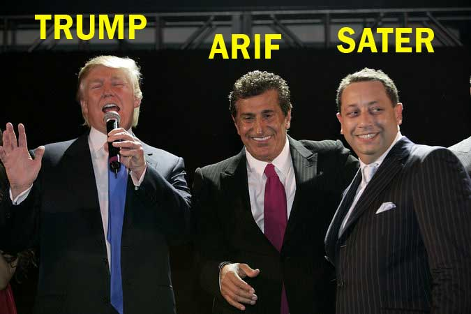Image result for photos of trump with Felix Sater