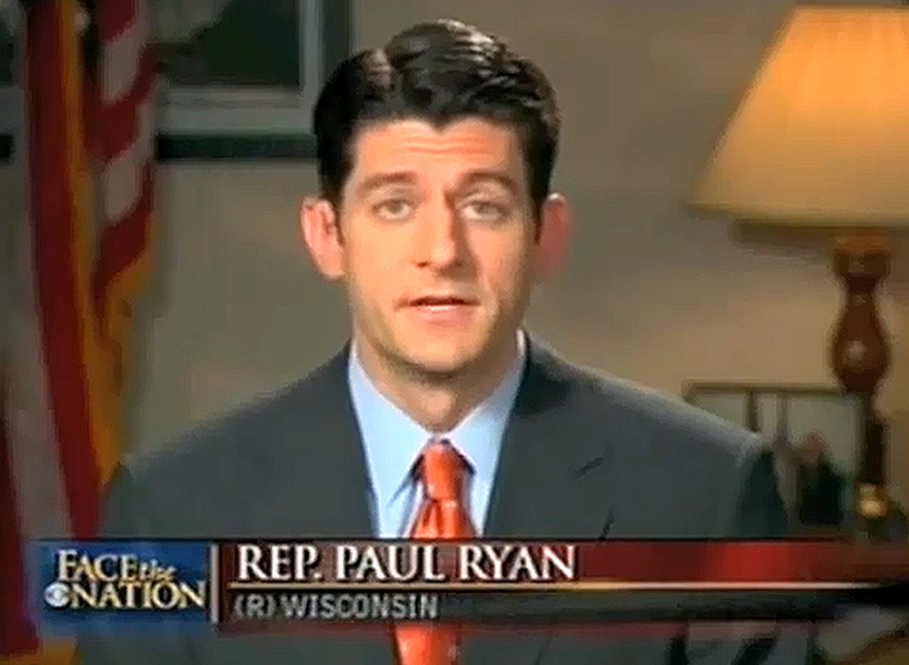Image result for photo of paul ryan on face the nation