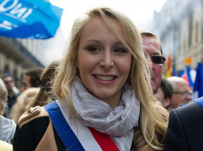 Image result for photos of Ms. Maréchal-Le Pen