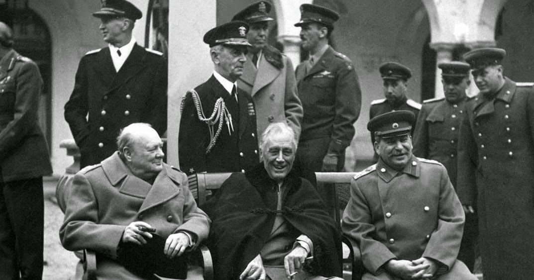 Image result for IMAGES on YALTA CONFERENCE