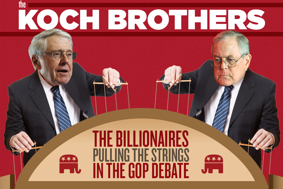 Why Koch Brothers And Other Corporate Conservative Donors Have Pushed Hard VS. Obamacare? | Gronda Morin