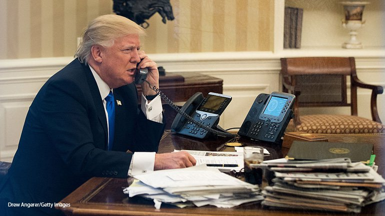 Image result for PHOTOS OF PRESIDENT ON THE PHONE